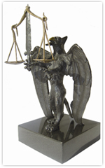 Award of Justice Statue
