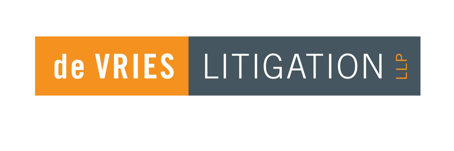 deVries Litigation Logo